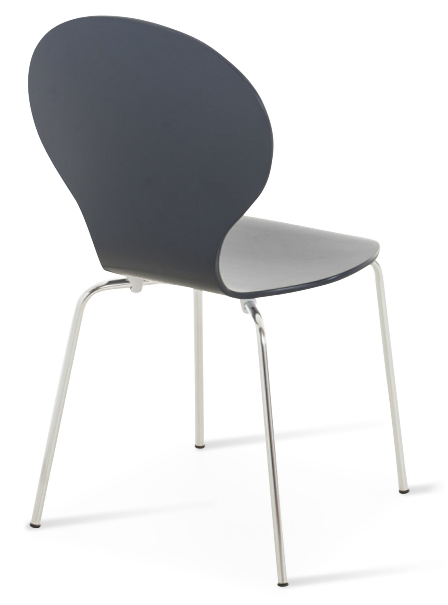 Kimberley Grey Amp Chrome Dining Chairs Sale Now On Your